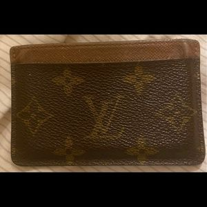 *sold* Authentic Louis Vuitton Card holder